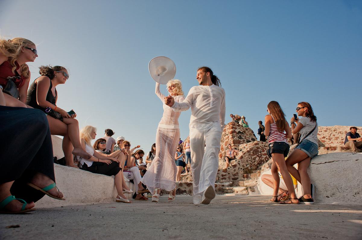 Santorini,свадебная фотосессия на санторини