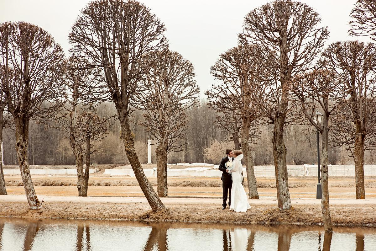 Свадебная фотосессия,Кусково