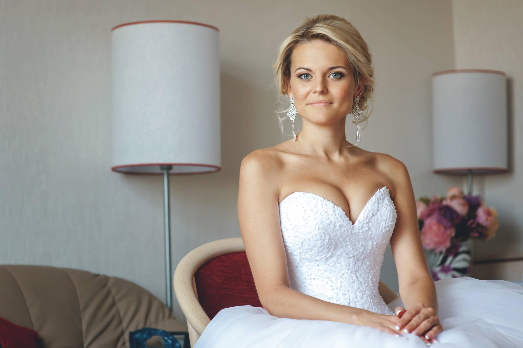 Сборы невесты, утро невесты, портрет невесты