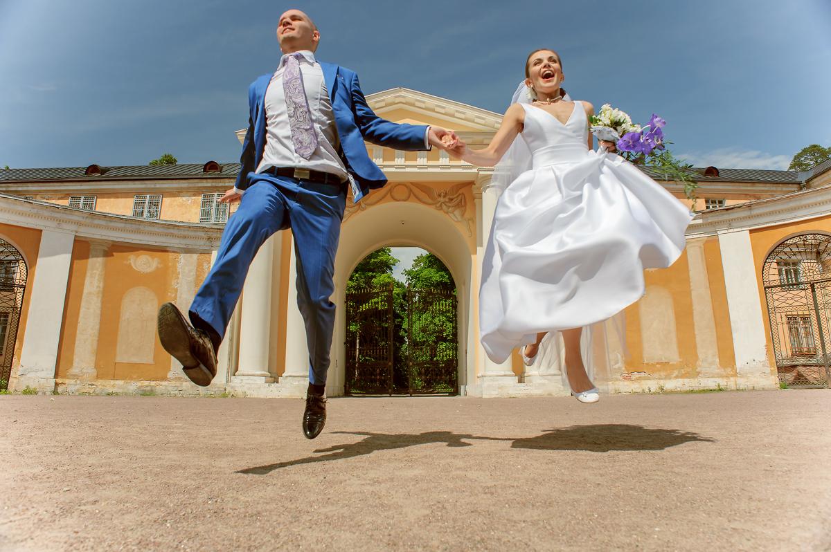 Свадебная фотосессия в Архангельском (Светлана и Максим)