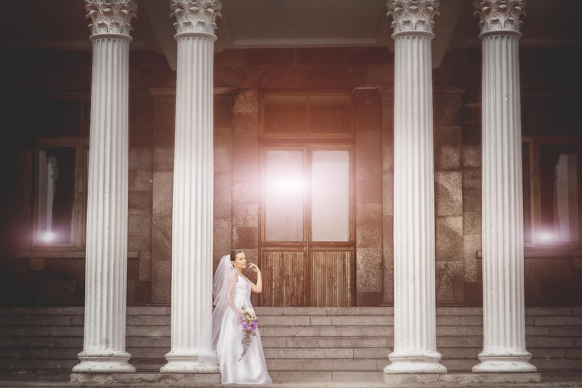Фотосессия невесты, фотосессия в Архангельском