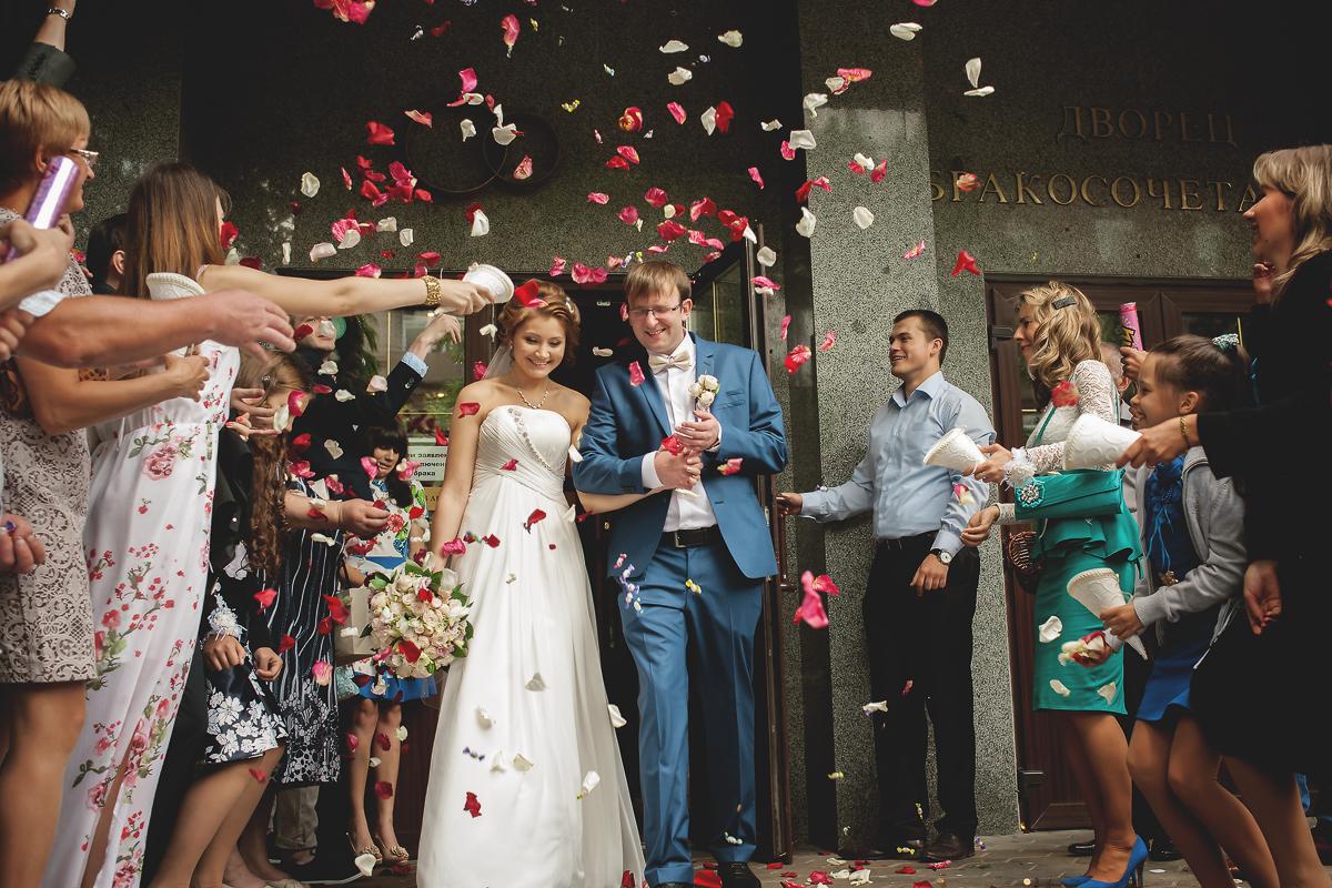 Свадебная фотосессия в Кусково (Анна и Сергей)