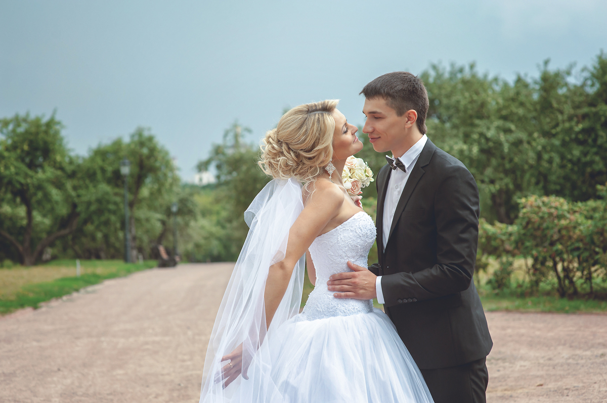 Марина и Максим (Свадебная фото сессия «Коломенское»)