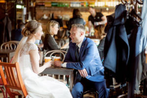 свадебная фотосессия в городе